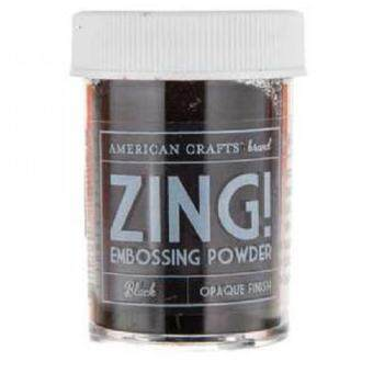 Harga Zing Opaque Embossing Powder - Black