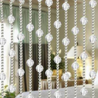 Harga Moonar DIY Home Decor Imitated Crystals Beads String Curtain Wedding Backdrop Festive Decor