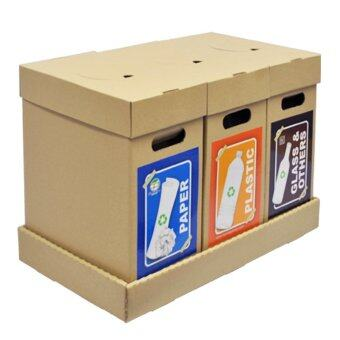 Harga Recycle Bin Waste Separation Trash Bin-RB02