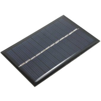 Harga Solar Panel 6V 100mA 0.6W Poly Module DIY Small Cell Charger