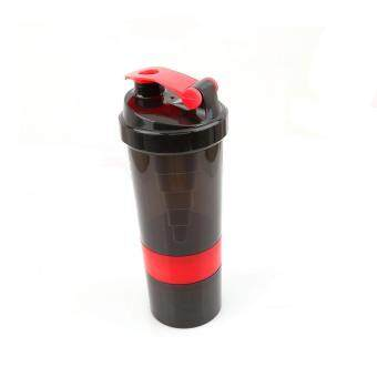 Harga Ai Home 500ml Protein Blender Shaker Shaking Cup Bottle Drinkware Barware Tool (Red)