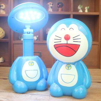 Harga BuyBuy Cartoon Doraemon Winnie The Pooh Monkey Desk Lamps Reading Studying Rechargeable Light Lovely