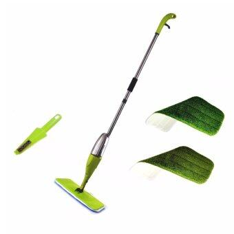 Harga Easy Spray Mop with 2 Microfiber refill Pads Green