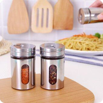 Harga Caster Jar Barbecue Seasoning Bottle Jar Pepper Bottle Salt Jar Aginomoto Chicken Essence Seasoning Box Herb Spice Tools