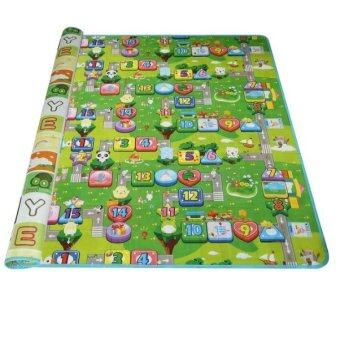 Harga Vessini Series Baby Kid Toddler Play Crawl Mat Carpet Playmat Foam Blanket Rug for In/Out Doors E
