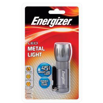 Harga Energizer LED Metal Light torch 45 lumen