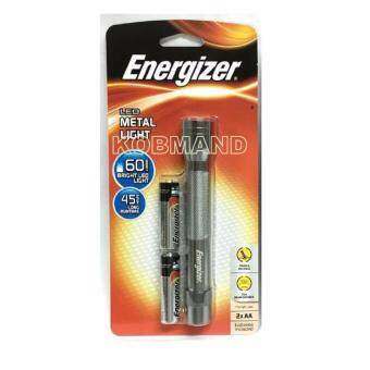 Harga ENERGIZER METAL FLASHLIGHT 2AA (With Battery)