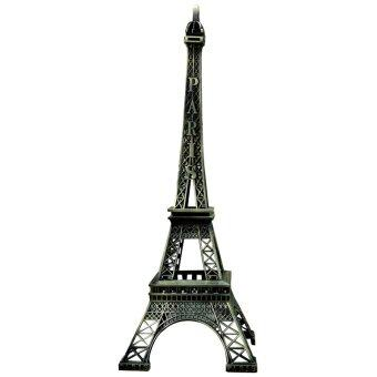 Harga Vintage Paris Eiffel Tower Figurine Home Decor 25CM
