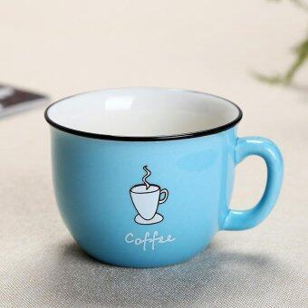 Harga Korean Milk Breakfast Cup Ceramics Mug Coffee Cups Water Cups Couple Cups