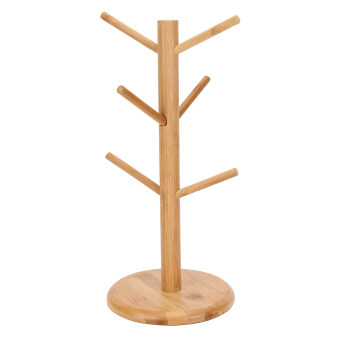 Harga Lgpenny Wood Tree Shape Home Kitchen Coffee Tea Drink Cup Storage Holders Stand Rack
