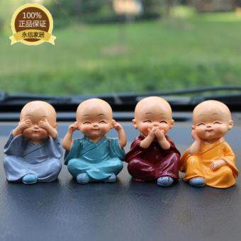Harga Creative Character Home Furnishing Room Decor Decoration Cute Little Monk Living Room Cabinet Decoration Decoration Crafts