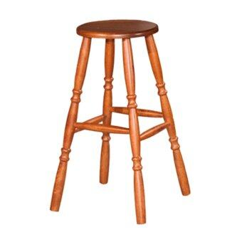 Harga HGF-ST-H700AO High Bar Stool - Antique Oak