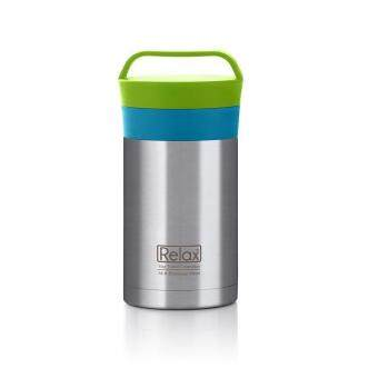 Harga Relax K3650 Thermal Food Jar (Blue/Green)
