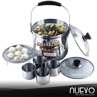 Harga Nuevo 7L High Quality Multi-Purpose Flame Free Cooking Pot