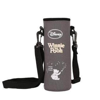Harga Carry Pouch for Drinking Bottle with Shoulder Strip for 500ml - Grey Winnie The Pooh