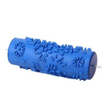 Harga Empaistic 15cm Decoration Wall Paint Rollers Increased pattern Flowers For decoration machine - Blue