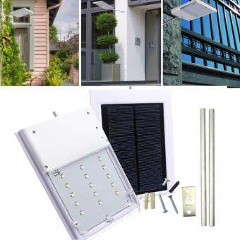 Harga Safety & Security Outdoor Work Lighting For House Garden Path LED Street Light Solar Powered Automatic Light Control Sensor Lamp