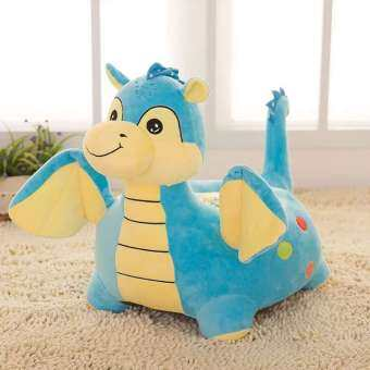 Harga Baby Dragon Design Kids Portable Sofa Chair (Blue)