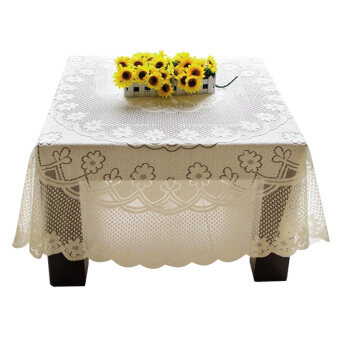 Harga PAlight Embroidery Lace Tablecloth (60*60cm Square)
