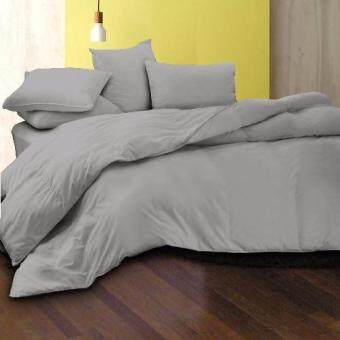 Harga Essina 100% Cotton 620TC Fitted Bedsheet set + Comforter - Candies Mercury
