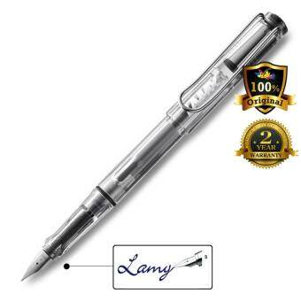 Harga Lamy Vista Fountain Pen Broad Nib Transparent -12B
