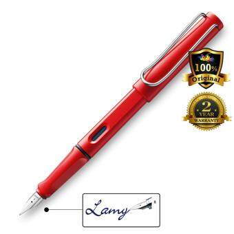 Harga Lamy Safari Fountain Pen Broad Nib Red -16B