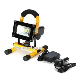 Harga 10W LED Rechargeable Flood Light