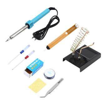 Harga 9 in 1 Welding Solder Soldering Iron Repair Tools Kit Electronic Tool Tools Set For SMT Rework