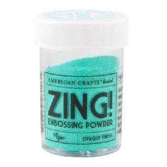 Harga Zing Opaque Embossing Powder - Aqua