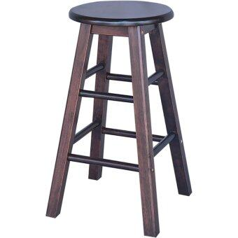 Harga HGF-ST-S600CP-4 High Bar Stool Cappuccino Set of 4