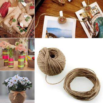 Harga Moonar Home living Using Natural Jute Knit Rope Wrapping decors