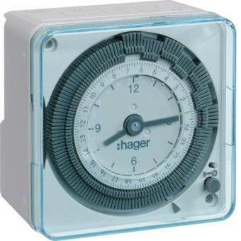 Harga Hager EH711 16A 24hrs Timer Switch