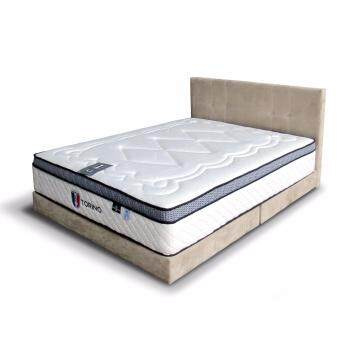 Harga Cavenzi Messini Queen Divan (Light Grey)