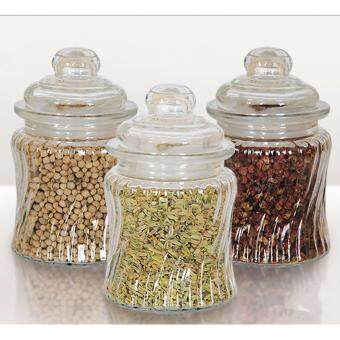 Harga Glance 3pcs Condiment Jar Set