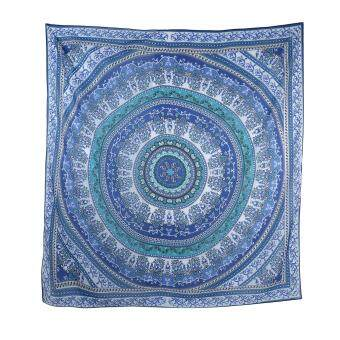 Harga leegoal Mandala Round Roundie Beach Throw Tapestry Hippy Boho Gypsy Chiffon Tablecloth Beach Towel