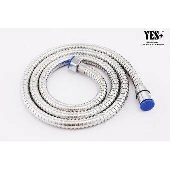 Harga YES+Plus 1.2M / 1200MM / 4'ft Stainless Steel Shower Hose, Flexible Hose, Bidet Hose With Anti Twist Water Pipe