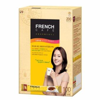 Harga French Cafe Cofee Mix 100pks Korean Instant Coffee
