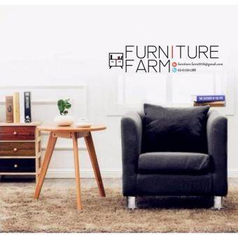 Harga F&F: LOUISSE Sitting Room Concept Furniture (1) Seater Velvet Lax & Soothed Settee - Sofa Design