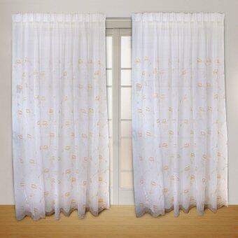 Harga Essina French Pleated Sheer Curtain 1 Layer - AZELIA GOLD