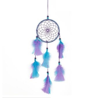 Harga Mix Color Feathers Dream Catcher Wall Hanging Home Car Decor