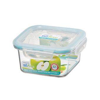 Harga Lock & Lock LBF231 Bisfree Square Tableware 580ml