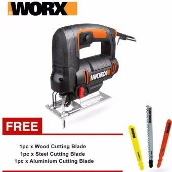 Harga Worx WX477 Jig Saw 65mm 550w