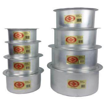 Harga Crocodile Brand Pot 16CM to 28cm (8 PCS)