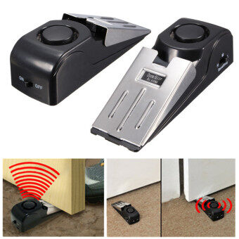 Harga 5PCS Portable Door Stop Alarm Wireless Home Travel Security Safety Wedge Alert NEW