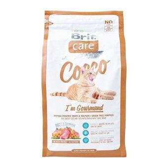 Harga Brit Care Gourmand Cat Food 2KG (Brown)