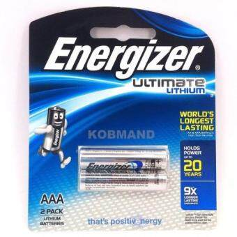 Harga Energizer Ultimate Lithium Battery 2's AAA