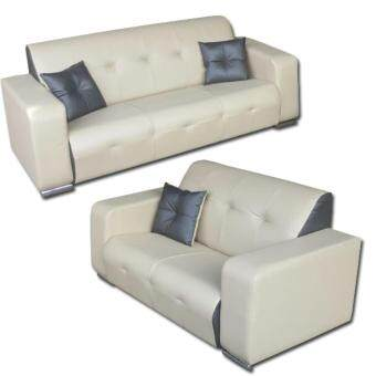 June 2+3 PU Upholstered Sofa Set