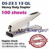 Kangaro Heavy Duty Stapler DS-23S13QL / 384556 High Quality Branded Stapler Punch Up To 100sheets 100's