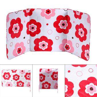 Harga Kitchen Cooking Frying Pan Oil Splash Screen Cover Red