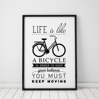 Harga Life Quote Wall Art Print Poster, Wall Pictures For HomeDecoration, Frame Not Include Canvas Art S001